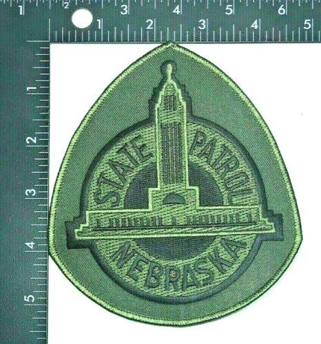 STATE PATROL NEBRASKA SSI SUBDUED PATCH (PD 7) POLICE JACKET