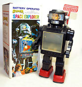 Battery Operated Robot Toy
