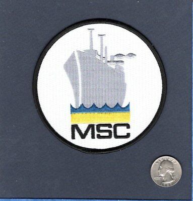 Military Sealift Command Ships - MSC MILITARY SEALIFT COMMAND US NAVY USNS LOGISTIC Support Ship Squadron Patch