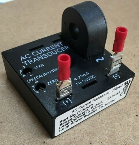 AB TCSA20 1615 AC Current Transducer SSAC Loop Power Supply 10-30 VDC