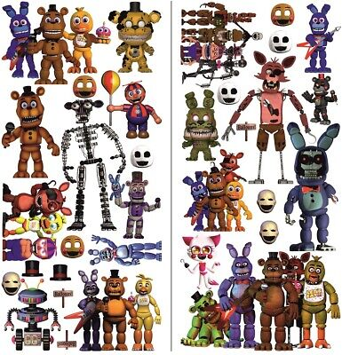 Philips Spf3482 8 Home Decor Digital Picture Frame FNAF Five Nights At Freddy's Wall Sticker Home Kids Room Decoration Art Decal Beach Theme Home Decorations