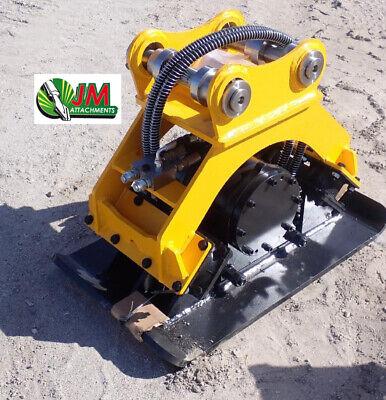 Hmb Hydraulic Plate Compactor Quick Attach Mini Excavator - 50 Mm Pin