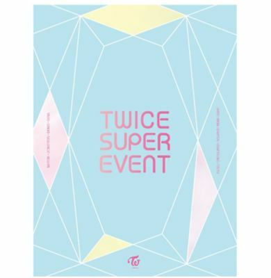 "K-POP TWICE Special Limited DVD ""TWICE SUPER EVENT"" [ 1 Photobook + 1 CD ]"