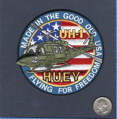 Bell UH-1 H-1 HUEY VIETNAM HELICOPTER ARMY AVIATION USMC Squadron Patch for sale  USA
