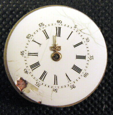 Old Ladies Swiss Pocket Watch movement, for restoration, size 28 mm
