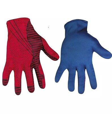 The Amazing Spider-Man Movie Adult Costume Gloves | - Amazing Spider Man Handschuhe