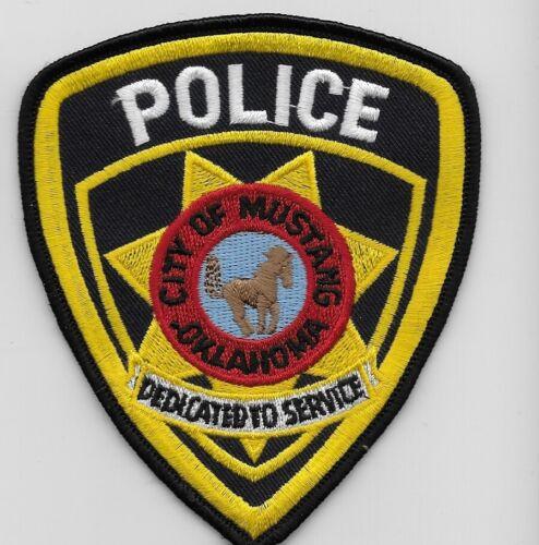 Mustang Police State Oklahoma OK NEAT