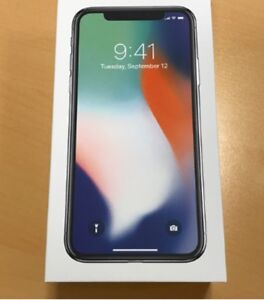 iPhone X unlocked with full 2 year apple care plus