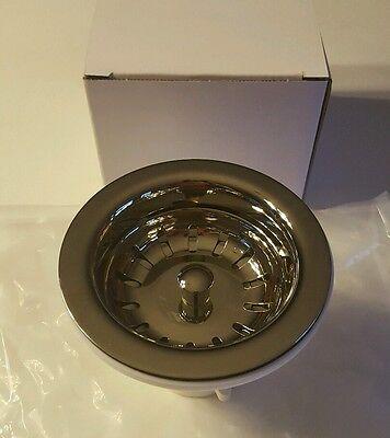 NEW Kitchen Polished Nickel Strainer wash sink -
