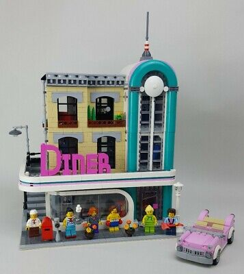 Lego Creator Expert Diner 10260 Complete With Box & Instructions