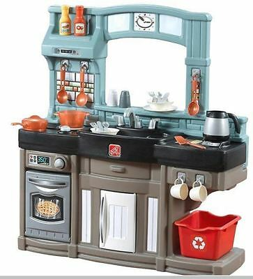 Kitchen Playset 25 pc Step2 Best Chef's Realistic Play Oven Refrigerator