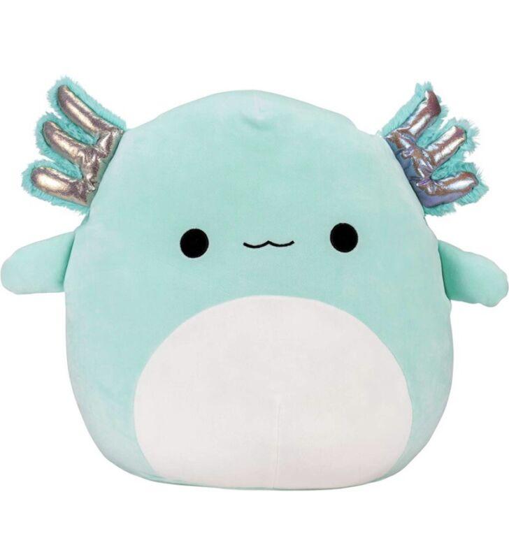 """Squishmallows Official Kellytoy Plush 16"""" Anastasia the Axolotl Ultrasoft Plush"""