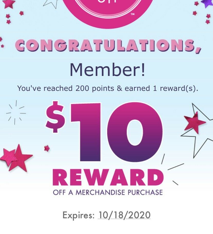 JUSTICE COUPON 10, Exp 10/18/20 - $4.00