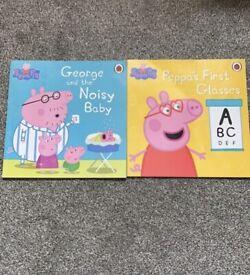 2 Pack Peppy Pig Books