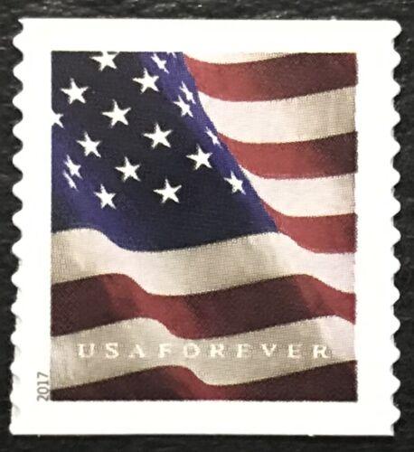 2017 Scott #5158 - Forever - U. S. FLAG - Single Mint NH Coil Single