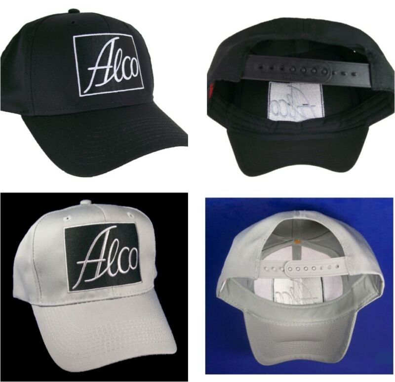 American Locomotive Works Alco Embroidered Cap Hat 40-6200 Color Choice
