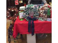 Christmas Fabric Wreath Kit