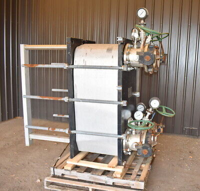 Api Stainless Steel Plate Heat Exchanger 753 Sq.ft.