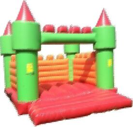 Bouncy castle And blower with matt