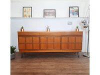 McIntosh Vintage Mid Century Danish Design Medium Teak Retro Sideboard Buffet #300