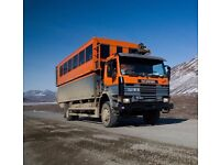 Scania 113 H 4x4 LHD overland expedition camper