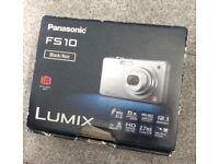 Panasonic LUMIX FS10 Black Digital Camera