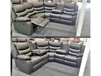 💥🤩Sofa- Brand New RECLINER CORNER SOFA AVAILABLE IN STOCK- Quick Delivery- 1 Year Warranty🤩