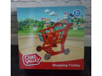Chad Valley Shopping Trolley Kids Toy Xmas New