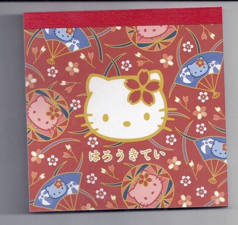 Sanrio Hello Kitty Notepad Japanese Fans