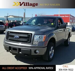 2014 Ford F-150 STX 4X4, Bluetooth, Hands Free Calling, Digit...