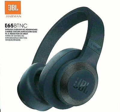 ce42c903fef JBL-E65-Bluetooth-Over-Ear-Kopfhoerer blau Active Noise Cancelling