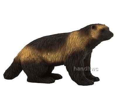 Mojo Fun 387146 Wolverine - Realistic Wild Animal Replica Toy Model - NIP