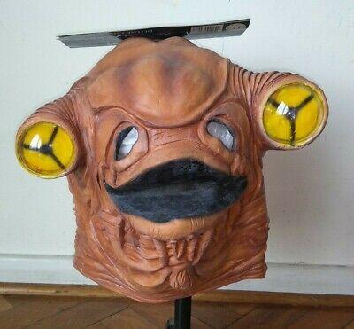 Admiral Ackbar Costume (Vintage ADMIRAL ACKBAR Star Wars LATEX MASK 1997  Costume Prop Cosplay)