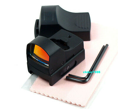 Hunting Micro Reflex 3 MOA Red Dot Sight Rifle Scope w/Weaver/Picatinny 20mm #01