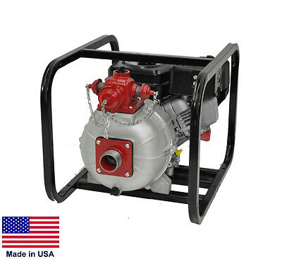 High Pressure Water Fire Pump - 2 Stage - 2 Ports - 4800 Gph - 130 Psi