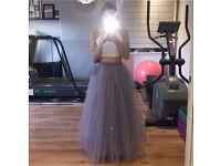 Little Mistress Tulle Prom Skirt (size 6)