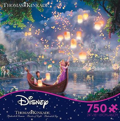 THOMAS KINKADE DISNEY DREAMS COLLECTION PUZZLE TANGLED RAPUNZEL 750 PCS #2903-13