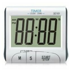 DIGITAL SERIES DC101 (LCD Digital Clock & Count-Down Timer Count Down/Up NEW ...