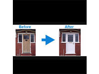 Double glaze pvc window/door repair cheapest