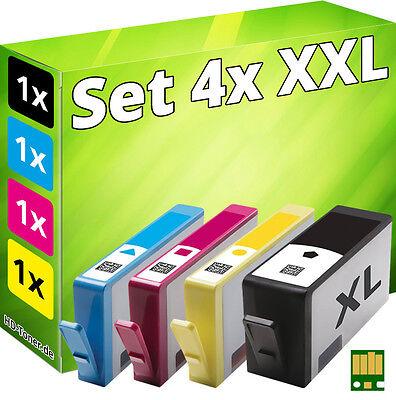 4x imprimante cartouche pour hp 934xl+935xl officejet pro 6230 6820 6830c en-un