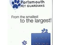 Portsmouth pet guardians