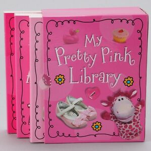 3 My Pretty Pink Library-Series First world Board Books