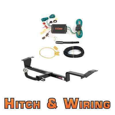 Curt Class 1 Trailer Hitch & Wiring Euro Kit W/ 2 Ball For 92-96 Es300 & Camry