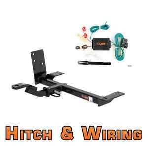 Curt Class 1 Trailer Hitch w/Mount & Wiring for VW Beetle / Golf