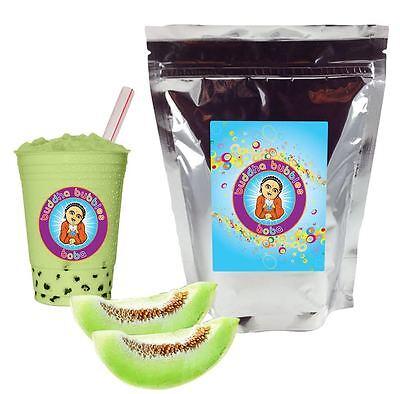 Honeydew Boba/ Bubble Tea Powder by Buddha Bubbles Boba (10 Ounces   283 Grams)