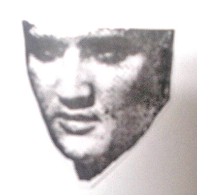 - Artistic Elvis Presley rubber stamp unmounted stamps faces rock n roll music art