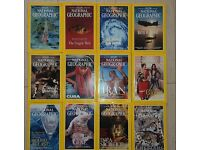 National Geographic 12 issues of year 1999 - Immaculate condition
