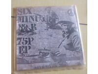 ✊ What punk was all about (collectible vinyl/ single) (Six Minute War 75P EP)