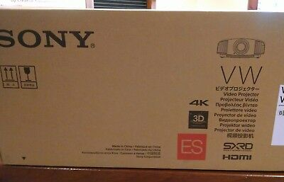 2019 Sony VPL-VW295ES 4K SXRD Cinema Projector Brand New w/FREE 4K HDMI Cable