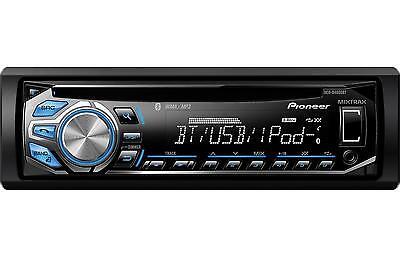 Pioneer Deh X4600bt In Dash Cd Mp3 Wma Car Audio Stereo Receiver W Bluetooth